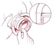 This is fitted on top of the appliance and is secured by the air pressure switch bracket screws (Fig. 24).