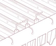 6.4 FAN ASSEMBLY a) Carefully disconnect the tab connectors on the fan wiring from the fan.