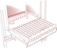 d) Inspect the fan assembly (especially the impeller and the venturi) for dirt, damage, or signs of wear. If necessary clean the impeller or/and venturi using a soft brush or vacuum cleaner.