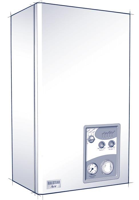 Ace USER INSTRUCTIONS HALSTEAD FOR THE FULLY AUTOMATIC FAN ASSISTED BALANCED FLUE COMBINATION BOILER FOR USE WITH NATURAL GAS B R I T