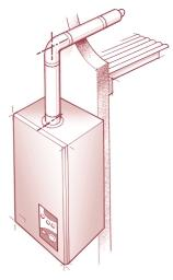 ) 5 SPECIFICATION FOR FLUE SYSTEMS WITH AN ELEVATED FLUE SYSTEM b 6 SPECIFICATION FOR FLUE SYSTEMS WITH AN ELEVATED FLUE SYSTEM INCORPORATING BENDS b c a Fig 5 - Use the vertical turret socket, 90