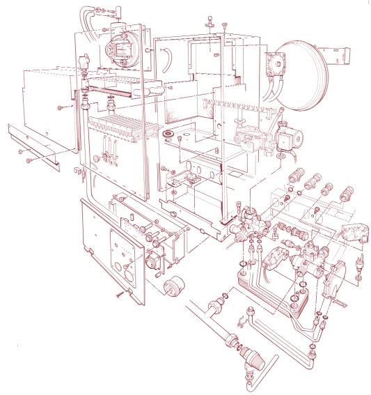 8 EXPLODED DIAGRAM (for key no.