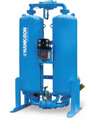 HANKISON HEATLESS DESICCANT DRYERS HHS, HHL AND HHE SERIES Since 1948, sensitive applications requiring clean, dry, compressed air have turned to Hankison for the optimal solution.