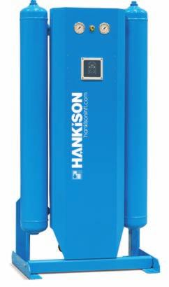 performance. Hankison HHS, HHL or HHE Series heatless desiccant dryers provide consistent outlet pressure dew points to -100 F (-73 C).