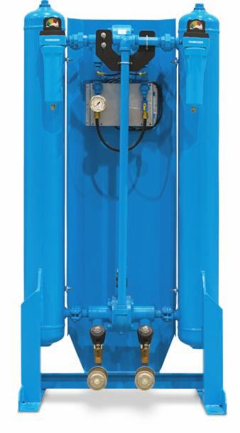 HHS, HHL AND HHE SERIES HEATLESS DESICCANT DRYERS HHE SERIES, -40 F DEW POINT PERFORMANCE, PURE AND SIMPLE Engineered to address the need for raw performance and value.