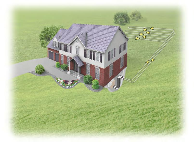 Renewable Energy From the Earth Geothermal systems can be installed with a variety of loop system configurations.