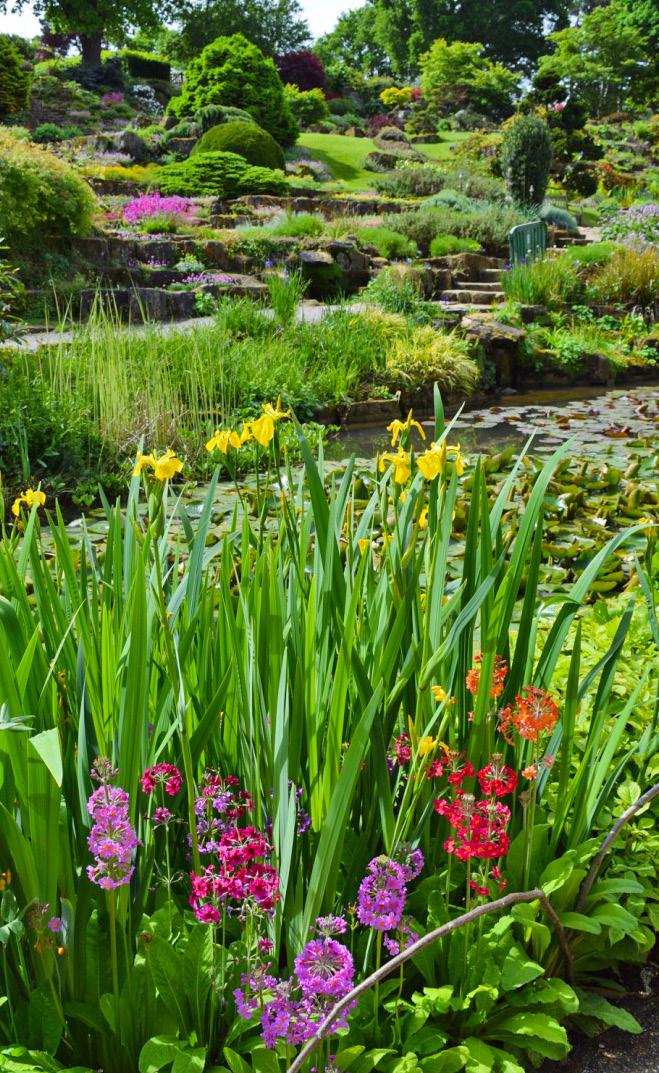DAY 3 Thursday, May 17, 2018 We begin our garden adventure with a garden that requires no introduction the RHS Wisley is known the world over.