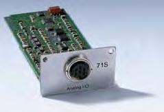 G.2 Analog module Analogue Module (LAUDA catalogue no. LRZ 912) has two inputs and two outputs, which are brought out to a six-pole DIN socket to Namur Recommendation (NE28).