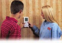 Full, seven-day programmability allows precise temperature and humidity control that matches your living schedule.
