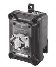 CONTROL STATIONS N1 INTRAGROUND SERIES: NON-METALLIC SELECTOR SWITCHES EXPLOSIONPROOF, DUST-IGNITIONPROOF.