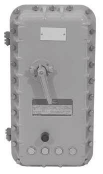 MOTOR STARTERS AEB SERIES BOLTED COMBINATION AND NON-COMBINATION FULL VOLTAGE MOTOR STARTERS: EXPLOSIONPROOF, DUST-IGNITIONPROOF, WATERTIGHT C R US ANSI/UL 508-17th Edition ANSI/UL 50-11th Edition