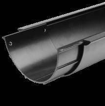 moulded ogee) 3m long gutters and pipes Choice of