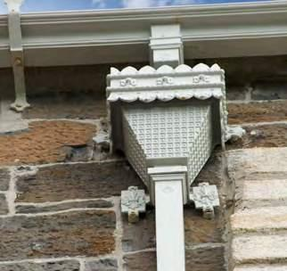 CAST IRON The cast iron rainwater system is available from stock in a primed finish for onsite painting or a pre-painted