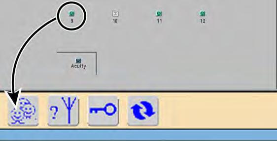 12 Chapter 2 Acuity System overview Welch Allyn Acuity Central Monitoring System To open a Waveform Window on a PLR station screen PLR stations are typically part of an extended Acuity System network.