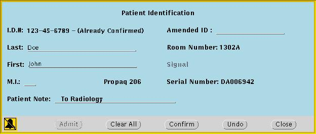 Directions for use Chapter 4 Adjust monitoring settings and patient information 81 Add or remove a note in a patient s Waveform Window If you would like to attach a note or reminder to a patient s