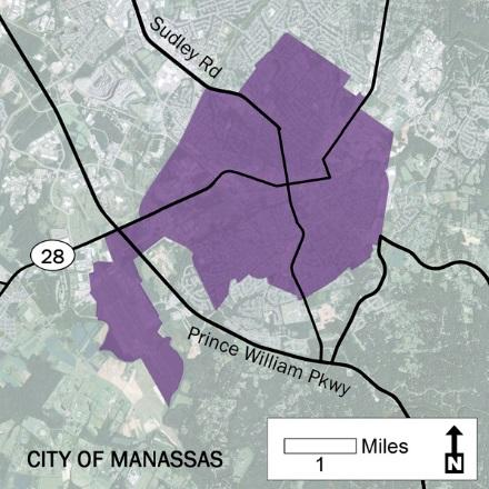 41 Urban Development Areas City of Manassas UDA Needs Profile The City of Manassas designated its entire City limits as a UDA in 2013.