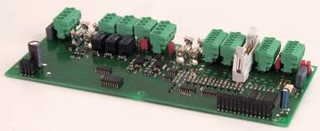 The extension modules I/O Interface Card This module can be used as universal I/O module or as interface card for the Fire Brigade.