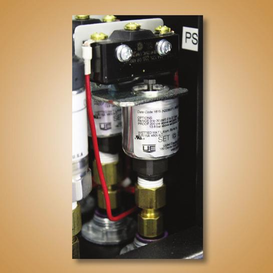 Dryers) Controls cooling valve operation When FTSA purchased, gives alarm for when