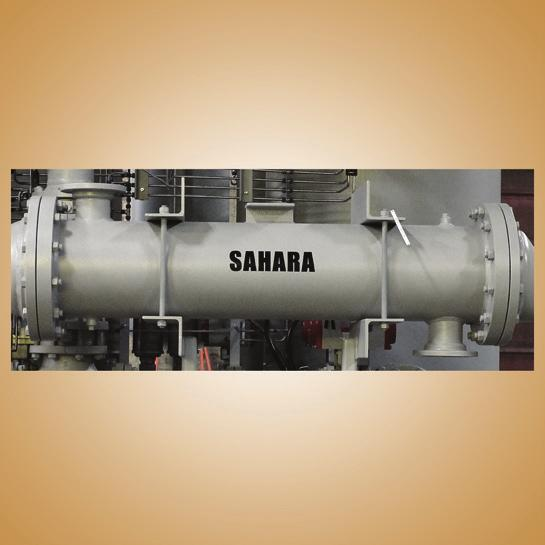 until primary drain is repaired SEPARATOR Most efficient coalescing type 95% efficient design Consists of
