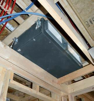 HEAT PUMPS Single Zone The Insider Concealed Ducted 24000 and 36000 Btu. Indoor unit is installed in the ceiling or furr down for unobtrusive installation.