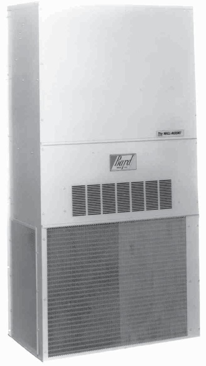 The Bard Wall-Mount Six Ton Air Conditioner is a self contained energy efficient system, which is designed to offer maximum indoor comfort at a minimal cost without using valuable indoor floor space
