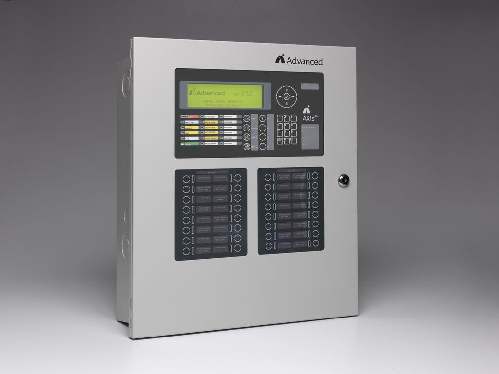 Designed with installation and service engineers in mind, the CAX-CTL-1L intelligent panel is modularly packaged, using surface mount and dual flash microprocessor technology, with onboard real time