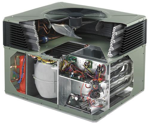 Trane packaged EarthWise hybrid systems, reliability you can appreciate. 1 Climatuff Two-Stage Compressor Legendary reliability, with two stages of cooling for efficiency and quiet operation.