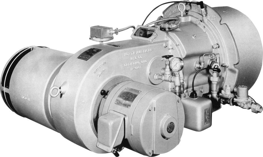 Blower Business Group 43, 53, 63 PACKAGED AUTOMATIC BURNERS Engineering Specifications 63 May 994 Features of NORTH AMERICAN Packaged Automatic Burners BUILT-IN BLOWER: Delivers 00% of combustion air