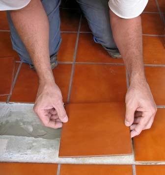 If one tile breaks it can be easily replaced.