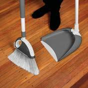 Bumper Guard to avoid scratching DUSTPAN Telescopic Handle 65cm to 1m Strong and