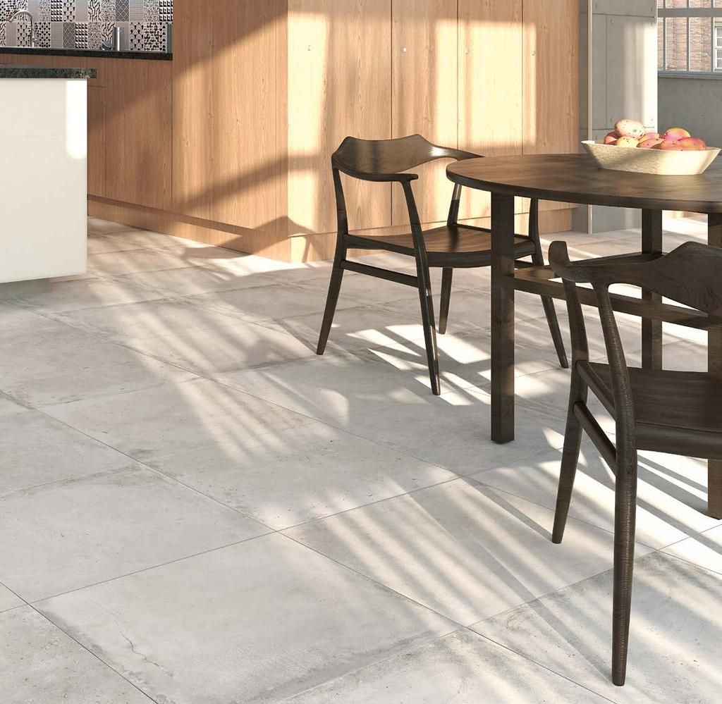 District HD SGR 60x120 cm / 24x48 DISTRICT HD Cement in its raw form, exhibiting marks,