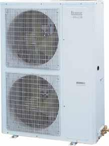 DUCTED INVERTER REVERSE CYCLE AIR CONDITIONING Outdoor unit features and benefits Ducted inverter single phase DRED (RJ45 connector) Saves power in peak usage times, refer to page 5 for more