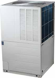 DUCTED INVERTER REVERSE CYCLE AIR CONDITIONING Outdoor unit features and benefits Ducted inverter three phase Long pipe runs (50 m) Allows more flexibility in placing an outdoor unit.