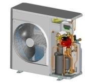 Integrated hydronic module w/ Variable Water Flow.