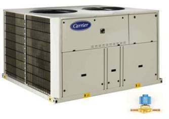 38RBS Series Air Cooled Chillers with Scroll Compressor(s) 11 sizes 40 to 160 kw
