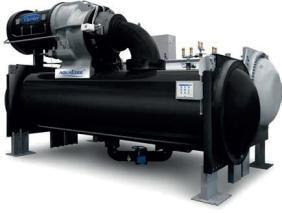 Heat exchanger certified Two-stage compressor W/Wo variable frequency drive.