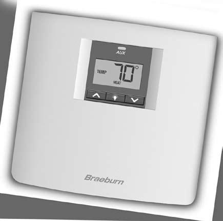 3100 Premier Series Non-Programmable 2 Heat / 2Cool & Heat / Cool Digital Thermostat OWNERS MANUAL Compatible with low voltage multi-stage heat / cool systems with up to two stages of heating and two