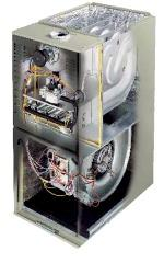95% AFUE 1 Furnace w/ Electrically Commutated Motor (ECM) High efficiency furnaces, but poor electrical efficiency.