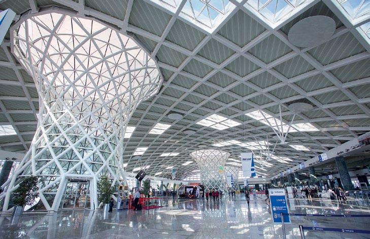 Security PUBLIC TRANSPORTATION Two Terminals, One Solution Upgraded Surveillance at Izmir International Airport in Turkey As part of the construction of a new domestic terminal at Izmir Adnan