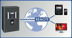 Hekatron offers two different solutions: Hekatron Remote Professional for installers to access display, control and programming