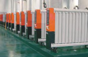 models MAXI models use multiple drying columns of equal length to provide required compressed air capacity The greater the flow required, the more drying columns are used (up