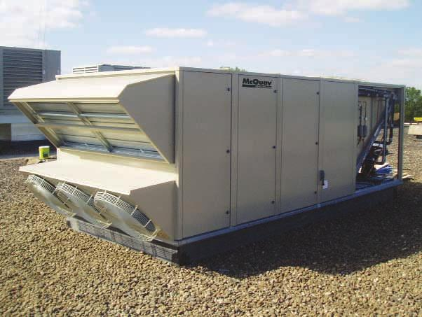 McQuay Commercial Rooftop Systems System performance and reliability make McQuay commercial