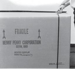 2-2. UNPACKING The Henny Penny Display Counter Warmer is tested, inspected, and expertly packed to insure arrival at its destination in the best possible condition.