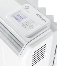 Child Lock & Landlord Lock (PIN-based) no more unwanted interference with controls and settings. Provides accurate room temperature control using a thermostat accurate to +/-0.