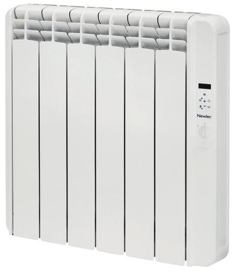 Newlec Electric Radiators The Newlec electric radiator range is one of the most energy efficient models available.