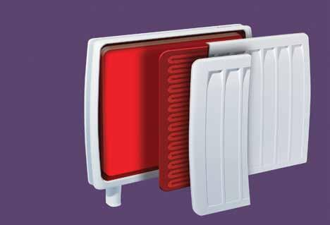 smarter features Optional central control unit available How DuoHeat works The secret to the DuoHeat radiator is its intelligent use of energy, ensuring plenty of heat is available right through the