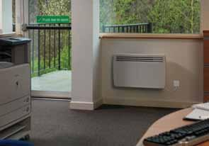 Styled to complement the award-winning DuoHeat radiator, the EPX range incorporates sensitive electronic thermostatic controls allowing accurate regulation of room temperatures essential for