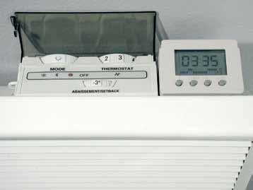 technical specifications Controls Electronic Control Dimplex electronic panel heaters feature highly accurate electronic thermostats, providing superior comfort and operating efficiency.