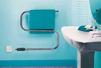electric towel rails the TR and S ranges What a difference warm, dry towels make! With a Dimplex towel rail you can have them all the time but at amazingly low running costs.