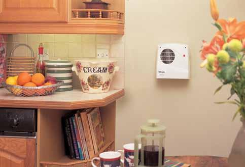 wall mounted fan heaters the FX range With their compact design, FX downflow fan heaters are the popular choice for heating bathrooms and ensuites as well as kitchens.